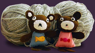 Bears and Wool at the Yarn Box