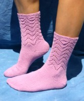 Lucky Lace Sock Pattern