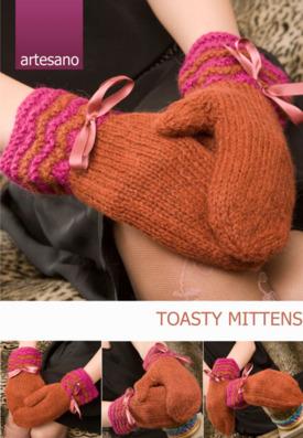Toasty Mittens Sheet Pattern