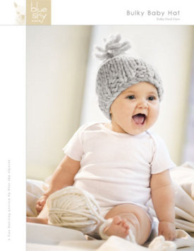 Bulky Baby Hat Sheet Pattern