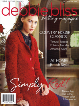 SPECIAL OFFER: Debbie Bliss Magazine - Fall/Winter 2009 (Issue 3) - IN STOCK