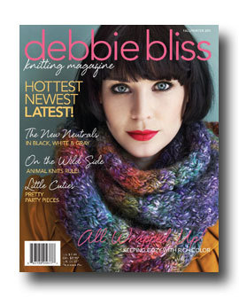 SPECIAL OFFER: Debbie Bliss Magazine -  Fall/Winter 2011 - AVAILABLE NOW