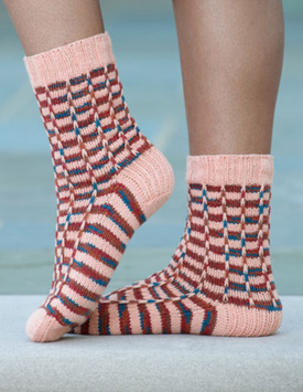 Syncopated Stripes Socks Kit - 10 available