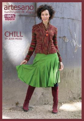 Chill Jacket Sheet Pattern