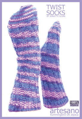 Twist Socks Sheet Pattern