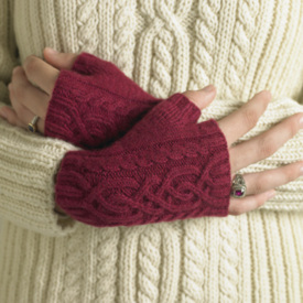 Milky Mitts and Fingerless Gloves Pattern