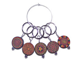 Stitch Marker Set - Painted Desert